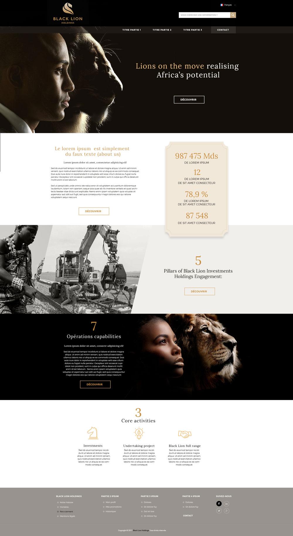 blacklion-website